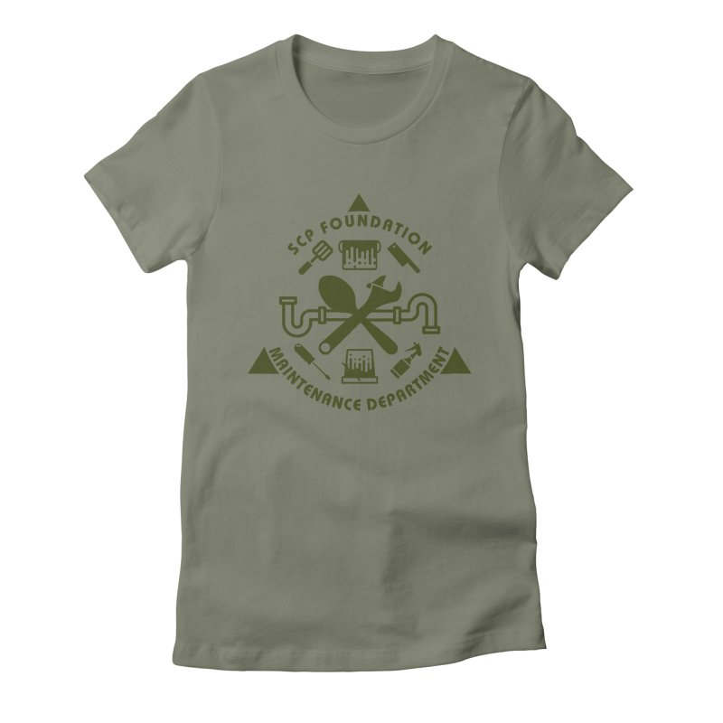 SCP Maintenance Department Women's T-Shirt by Find Us Alive Official Merch