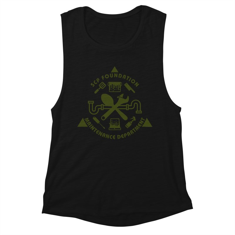 SCP Maintenance Department Women's Tank by Find Us Alive Official Merch