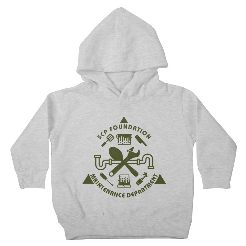 SCP Maintenance Department Kids Toddler Pullover Hoody by Find Us Alive Official Merch