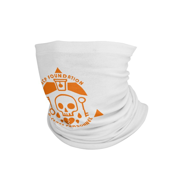 SCP D-Class Accessories Neck Gaiter by Find Us Alive Official Merch