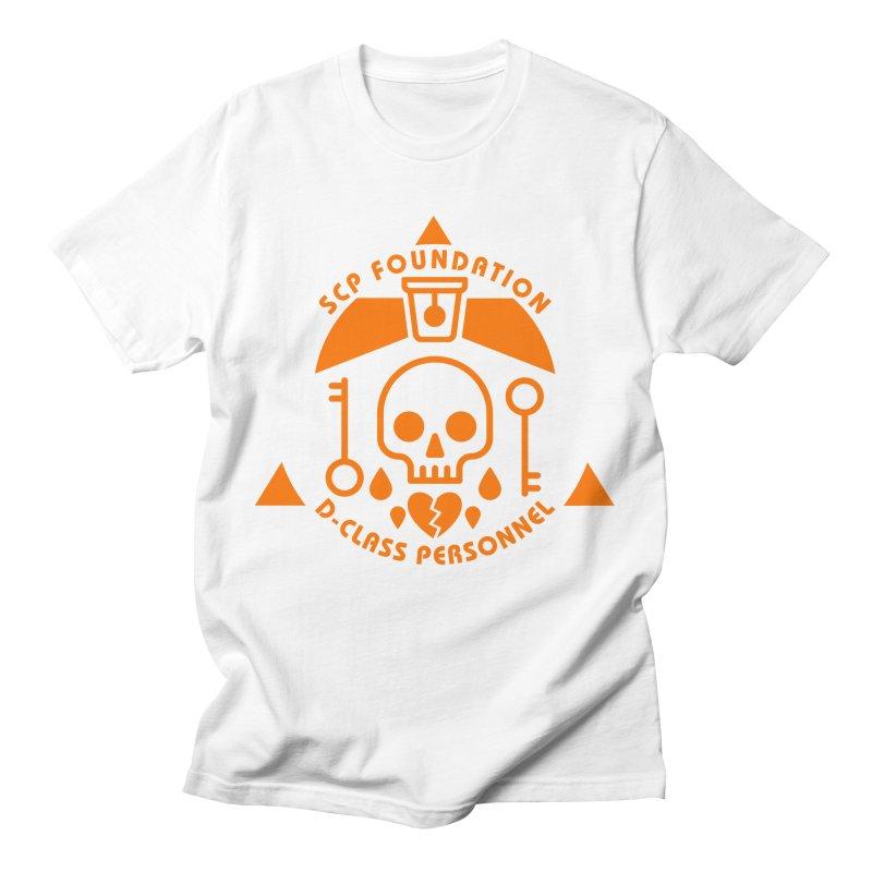 SCP D-Class Men's T-Shirt by Find Us Alive Official Merch