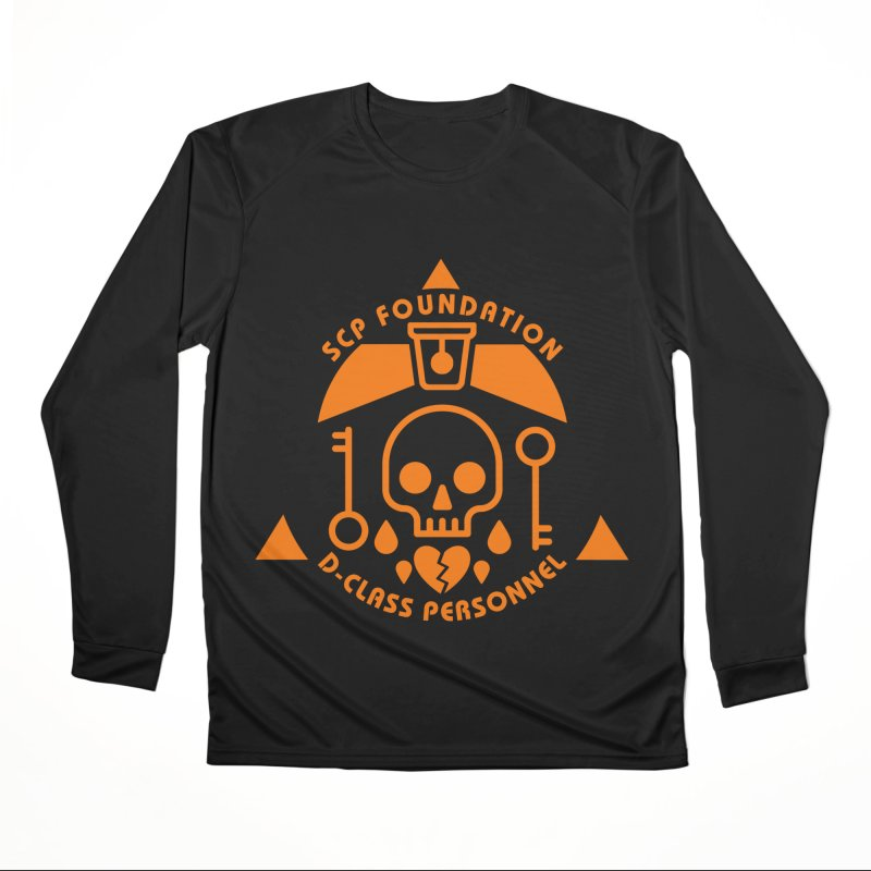 SCP D-Class Women's Longsleeve T-Shirt by Find Us Alive Official Merch