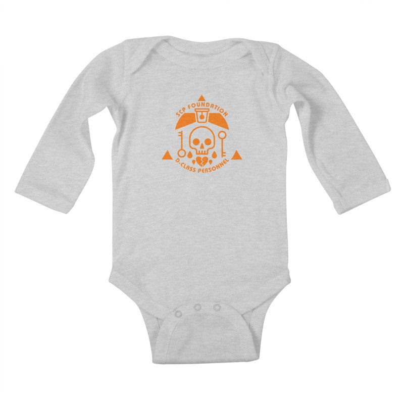 SCP D-Class Kids Baby Longsleeve Bodysuit by Find Us Alive Official Merch