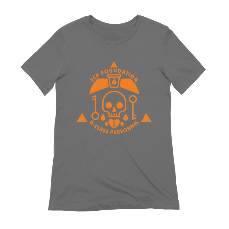 SCP D-Class Women's T-Shirt by Find Us Alive Official Merch