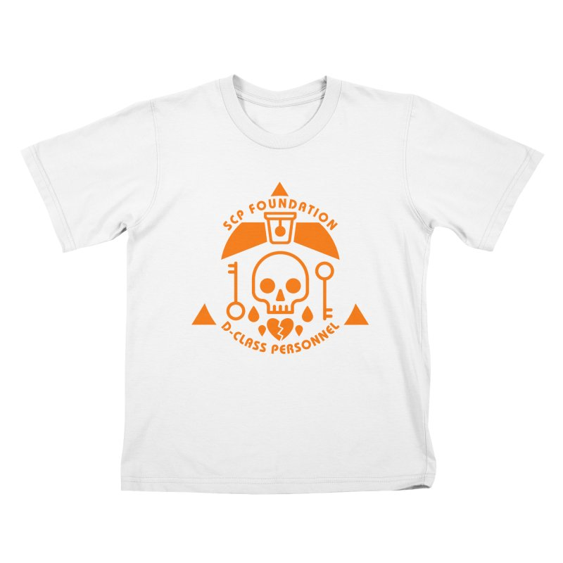 SCP D-Class Kids T-Shirt by Find Us Alive Official Merch