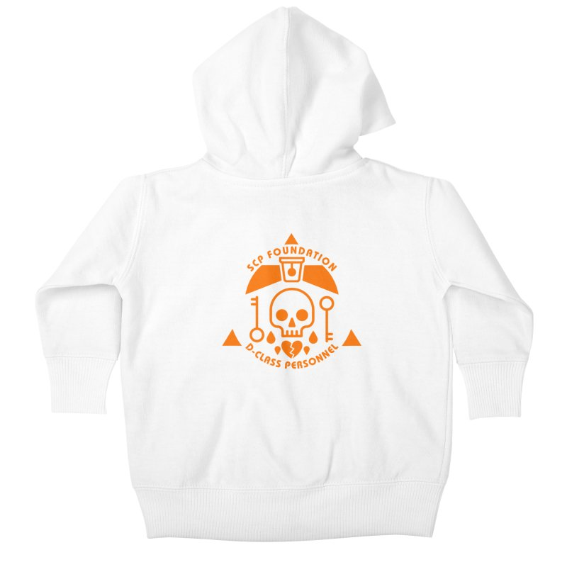SCP D-Class Kids Baby Zip-Up Hoody by Find Us Alive Official Merch