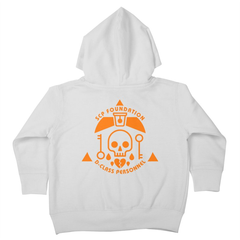 SCP D-Class Kids Toddler Zip-Up Hoody by Find Us Alive Official Merch
