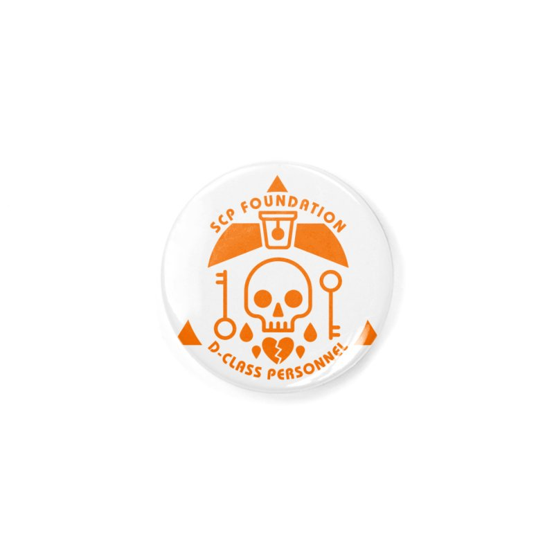 SCP D-Class Accessories Button by Find Us Alive Official Merch