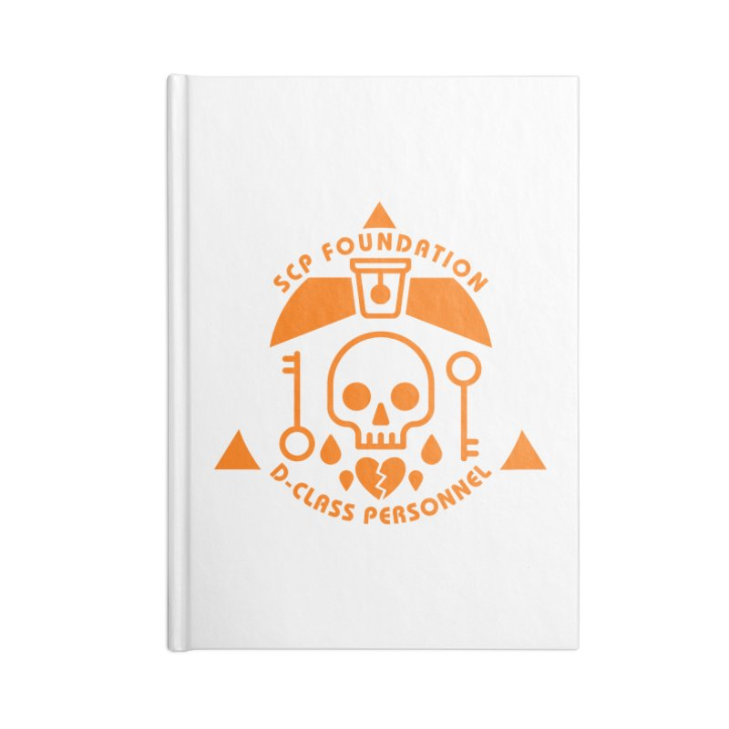 SCP D-Class Accessories Notebook by Find Us Alive Official Merch