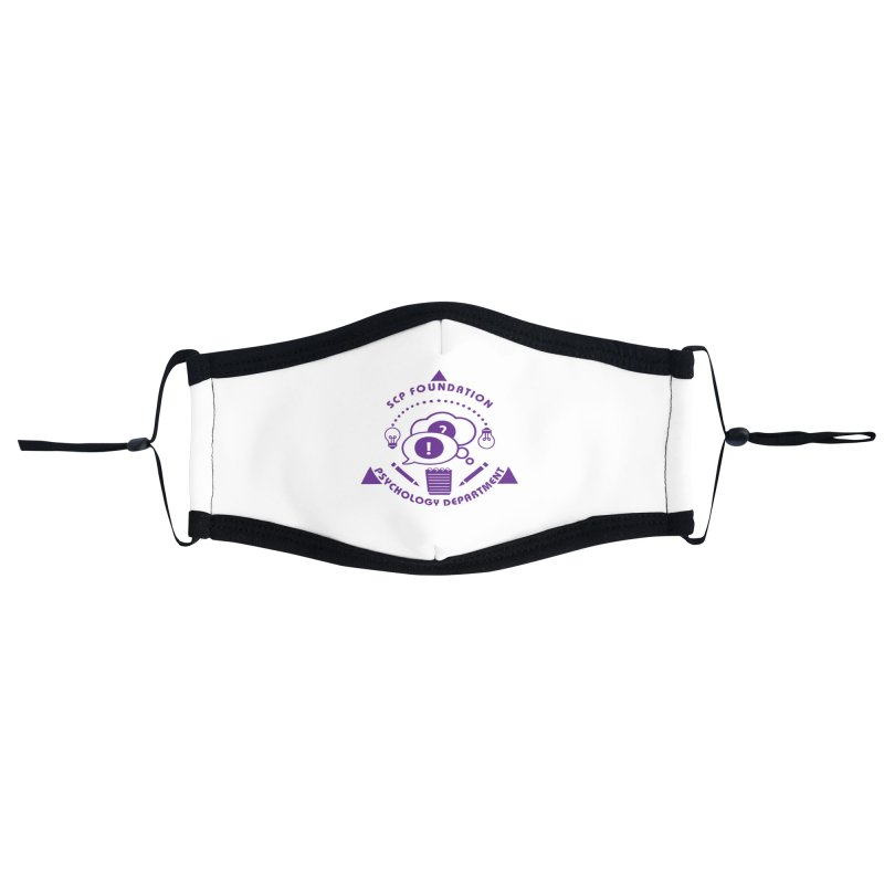 SCP Psychology Department Accessories Face Mask by Find Us Alive Official Merch