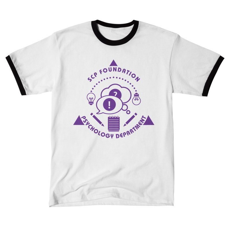 SCP Psychology Department Men's T-Shirt by Find Us Alive Official Merch