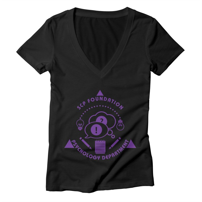 SCP Psychology Department Women's V-Neck by Find Us Alive Official Merch