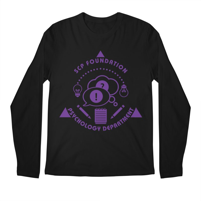 SCP Psychology Department Men's Longsleeve T-Shirt by Find Us Alive Official Merch