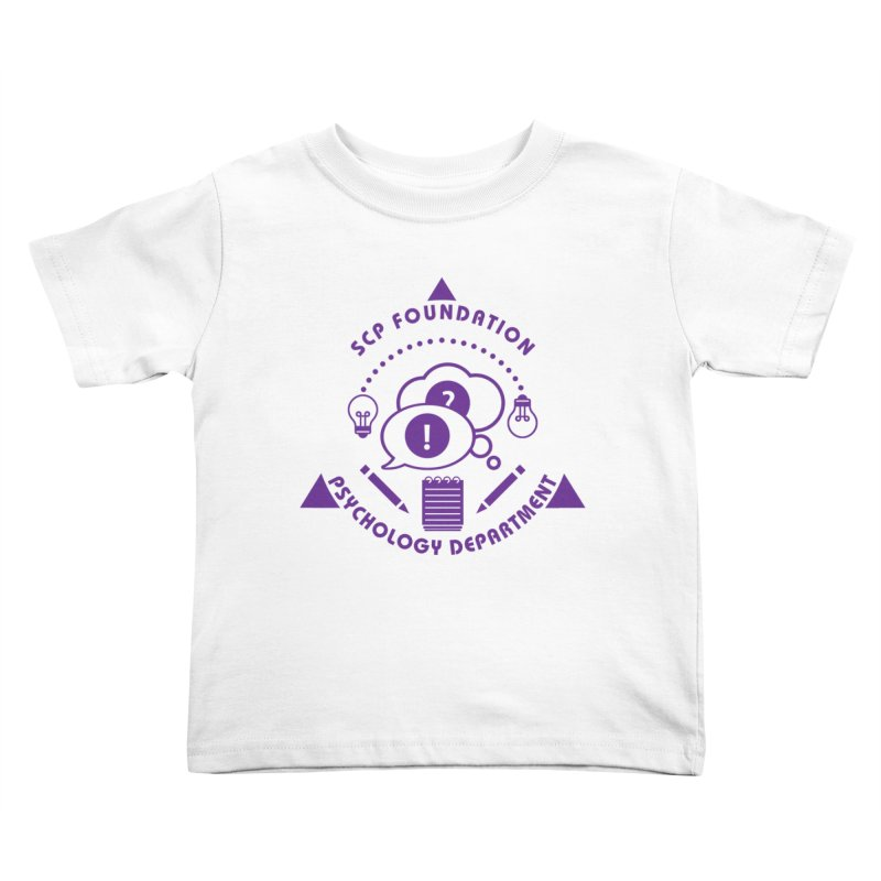 SCP Psychology Department Kids Toddler T-Shirt by Find Us Alive Official Merch