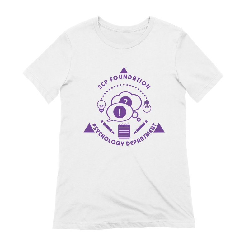 SCP Psychology Department Women's T-Shirt by Find Us Alive Official Merch