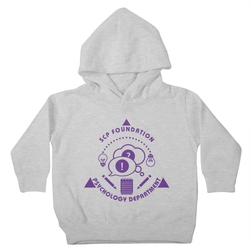 SCP Psychology Department Kids Toddler Pullover Hoody by Find Us Alive Official Merch