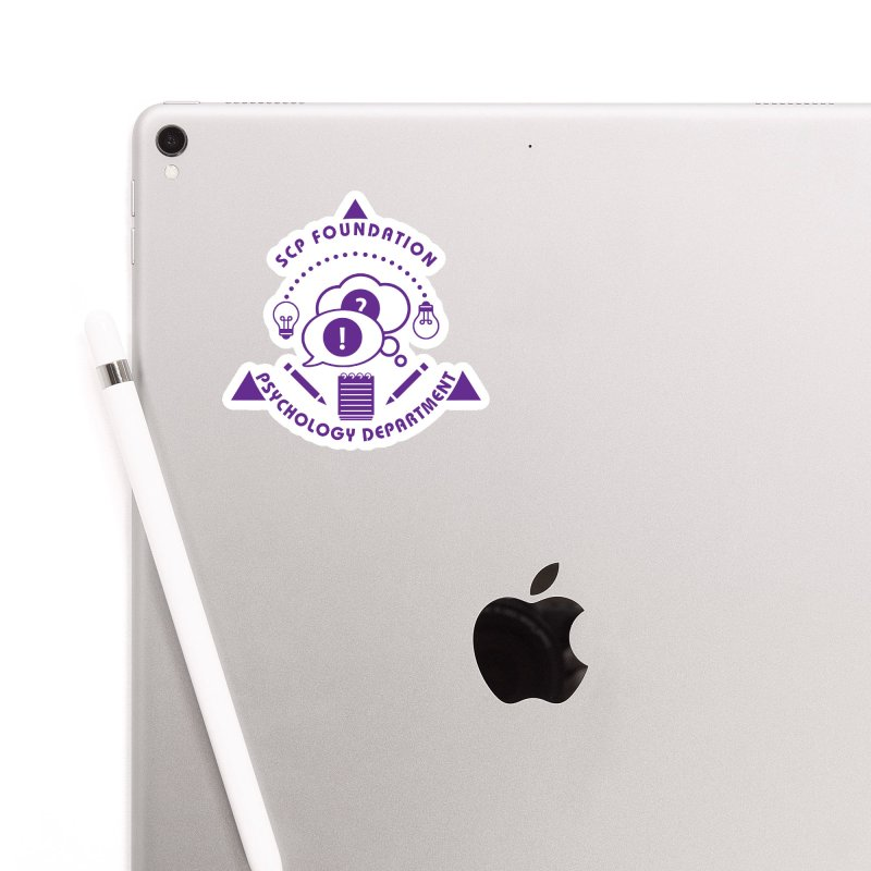 SCP Psychology Department Accessories Sticker by Find Us Alive Official Merch