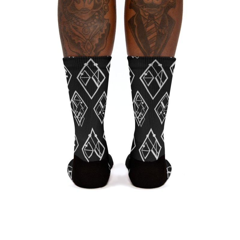 Body Code Tile Women's Socks by Find Us Alive Official Merch