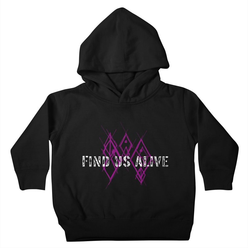 Body Code Title Kids Toddler Pullover Hoody by Find Us Alive Official Merch