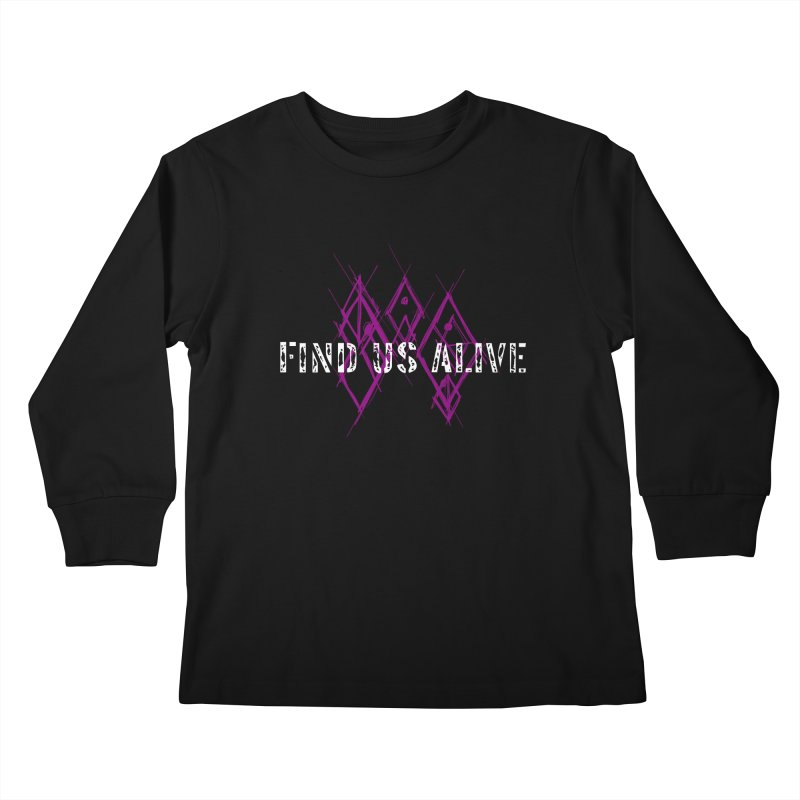 Body Code Title Kids Longsleeve T-Shirt by Find Us Alive Official Merch