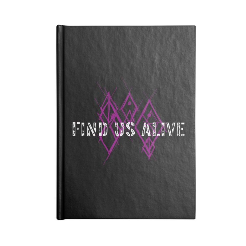 Body Code Title Accessories Notebook by Find Us Alive Official Merch