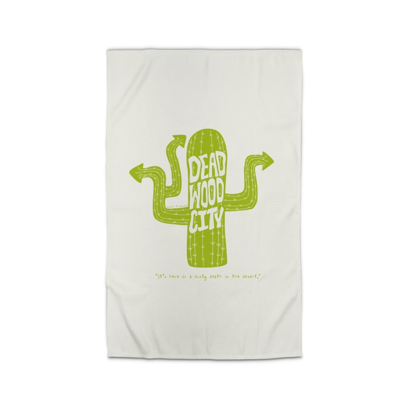 Deadwood City Choice Cactus Home Rug by Finish It! Podcast Merchzone