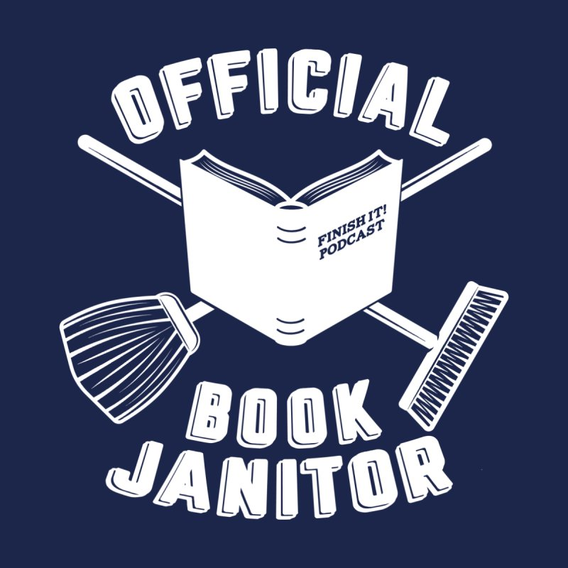 Official Book Janitor (White) Accessories Beach Towel by Finish It! Podcast Merchzone