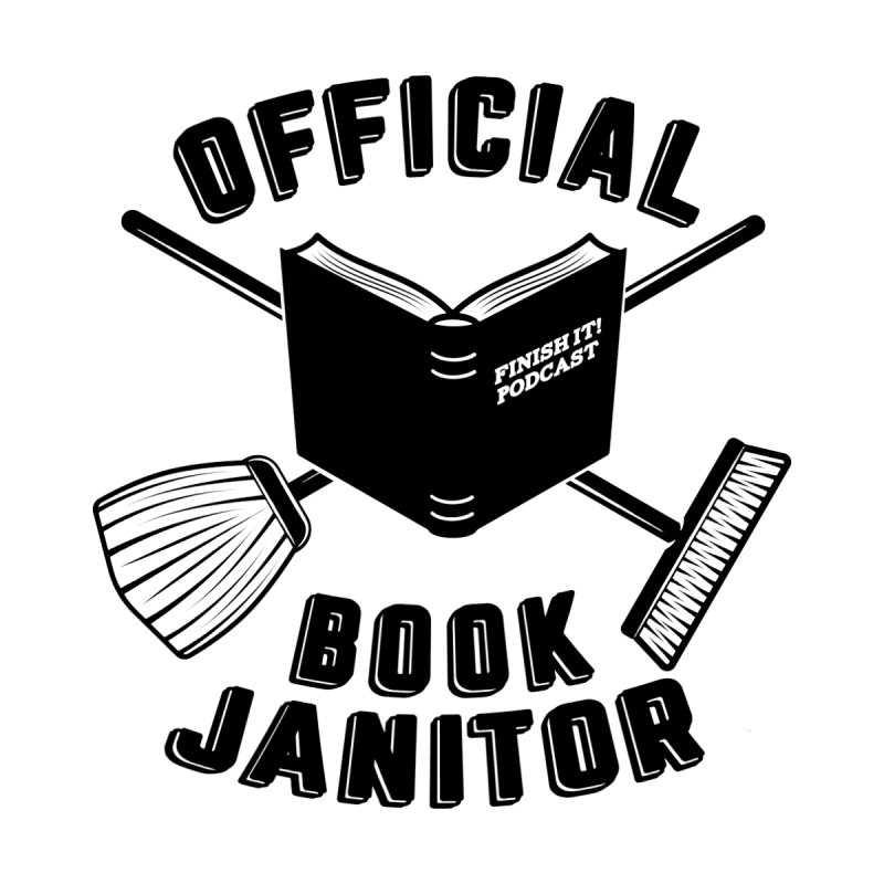 Official Book Janitor (Black) Men's Tank by Finish It! Podcast Merchzone