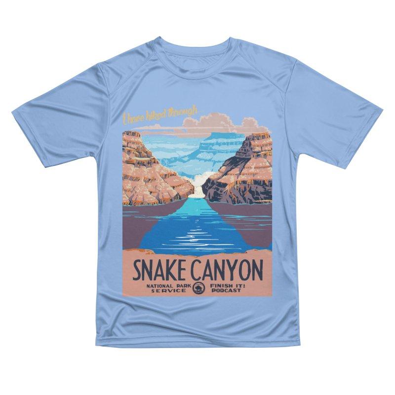 Snake Canyon Hourglass Women's T-Shirt by Finish It! Podcast Merchzone