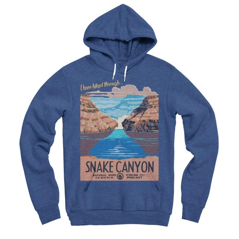 Snake Canyon Hourglass Women's Sponge Fleece Pullover Hoody by Finish It! Podcast Merchzone