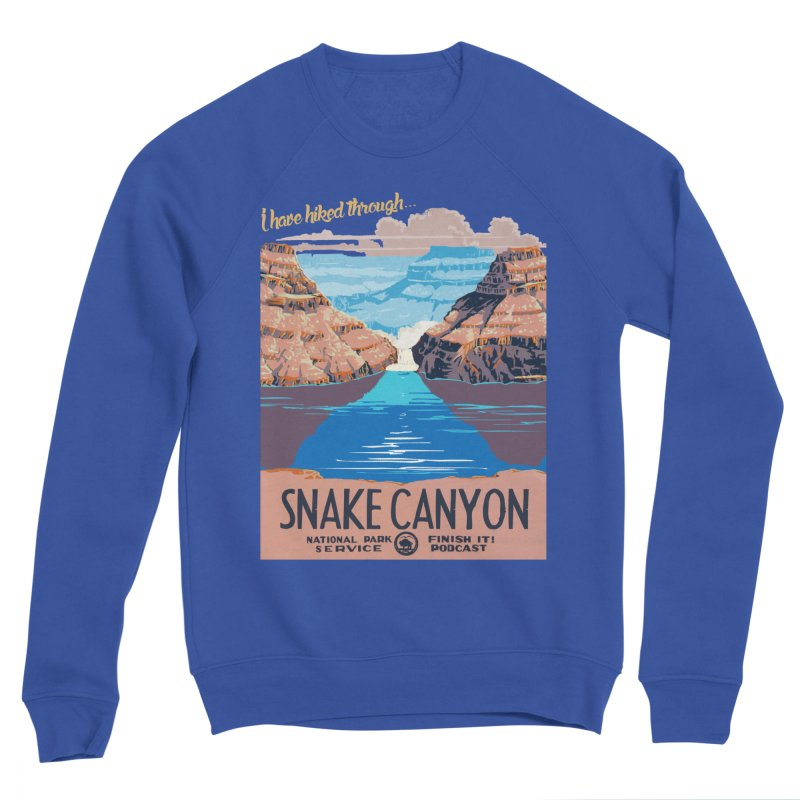 Snake Canyon Hourglass Women's Sweatshirt by Finish It! Podcast Merchzone