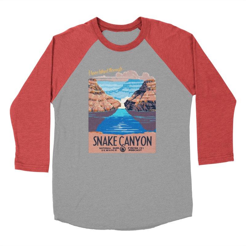 Snake Canyon Hourglass Men's Longsleeve T-Shirt by Finish It! Podcast Merchzone