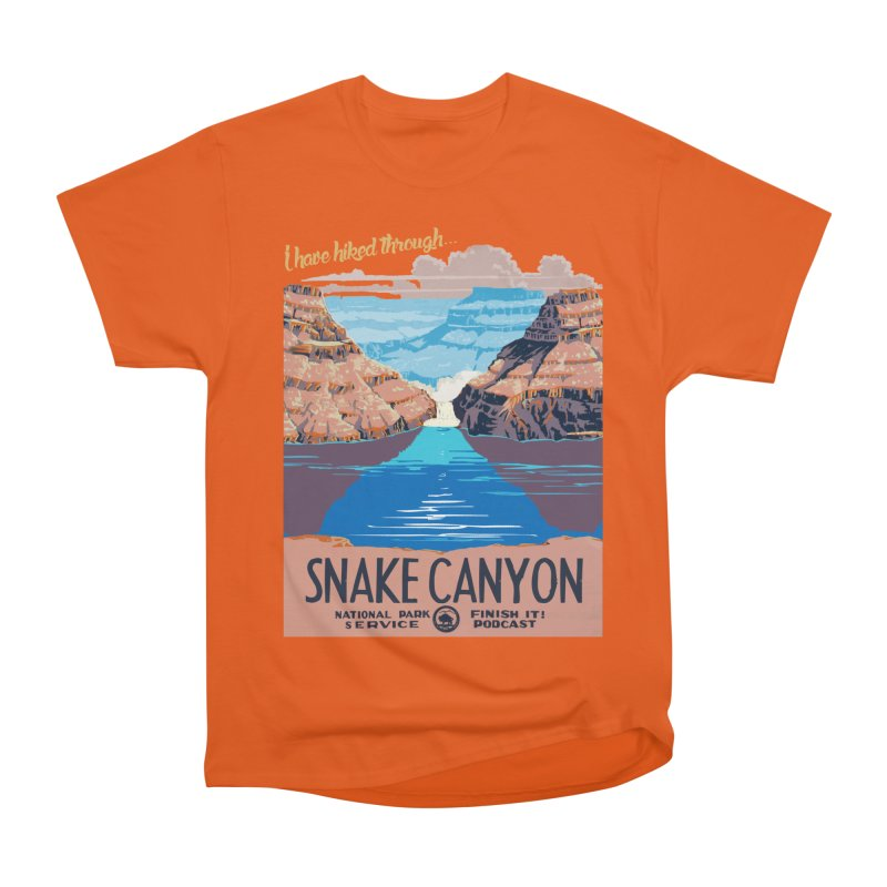 Snake Canyon Hourglass Women's T-Shirt by Finish It! Podcast Merchzone