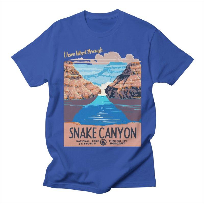 Snake Canyon Hourglass Women's Regular Unisex T-Shirt by Finish It! Podcast Merchzone