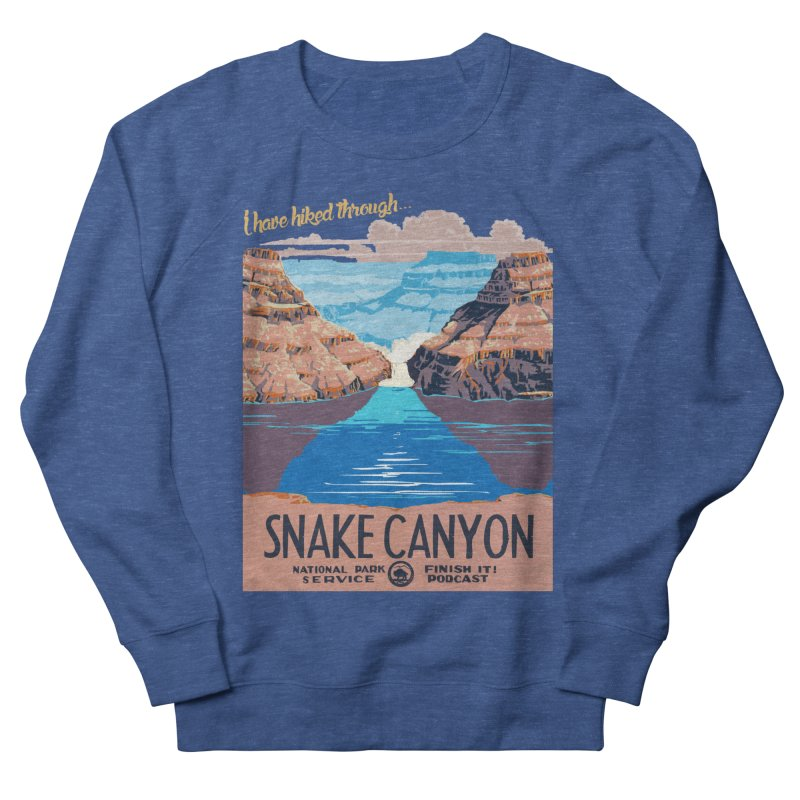 Snake Canyon Hourglass Men's Sweatshirt by Finish It! Podcast Merchzone