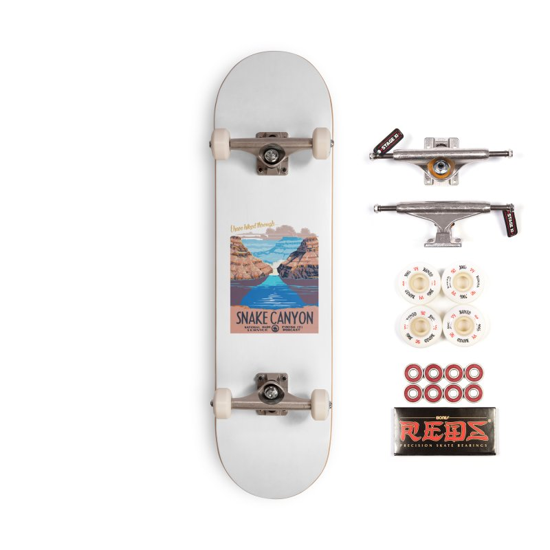 Snake Canyon Hourglass Accessories Complete - Pro Skateboard by Finish It! Podcast Merchzone