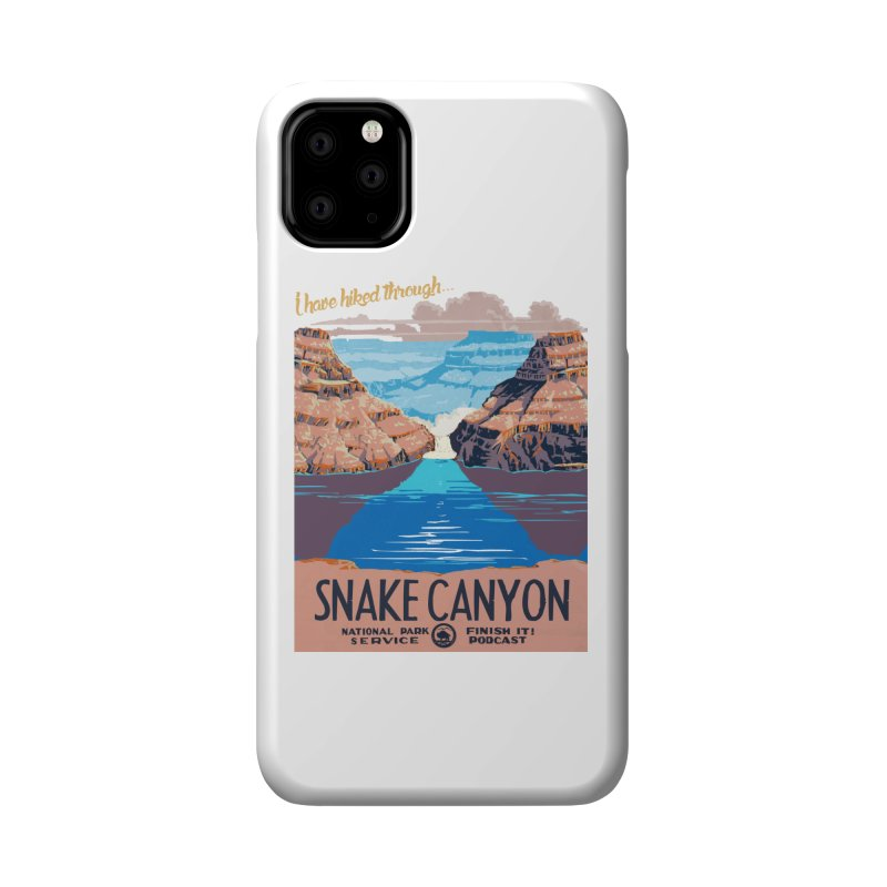 Snake Canyon Hourglass Accessories Phone Case by Finish It! Podcast Merchzone