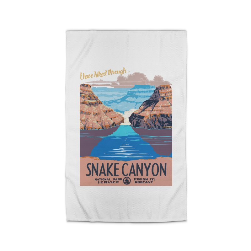 Snake Canyon Hourglass Home Rug by Finish It! Podcast Merchzone