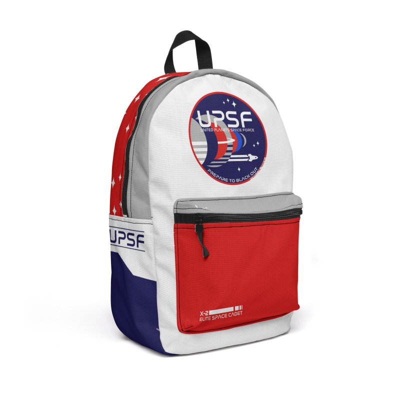 United Planets Space Force Logo Accessories Bag by Finish It! Podcast Merchzone