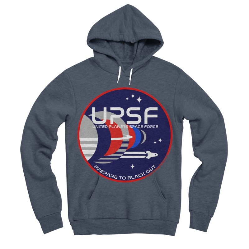 United Planets Space Force Logo Women's Sponge Fleece Pullover Hoody by Finish It! Podcast Merchzone