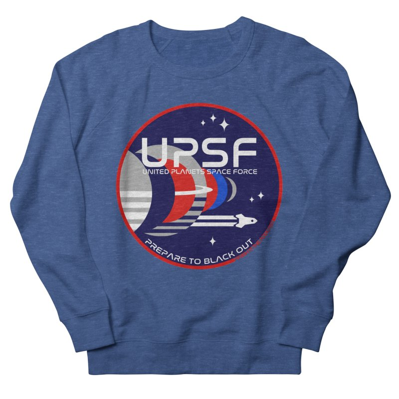 United Planets Space Force Logo Men's Sweatshirt by Finish It! Podcast Merchzone