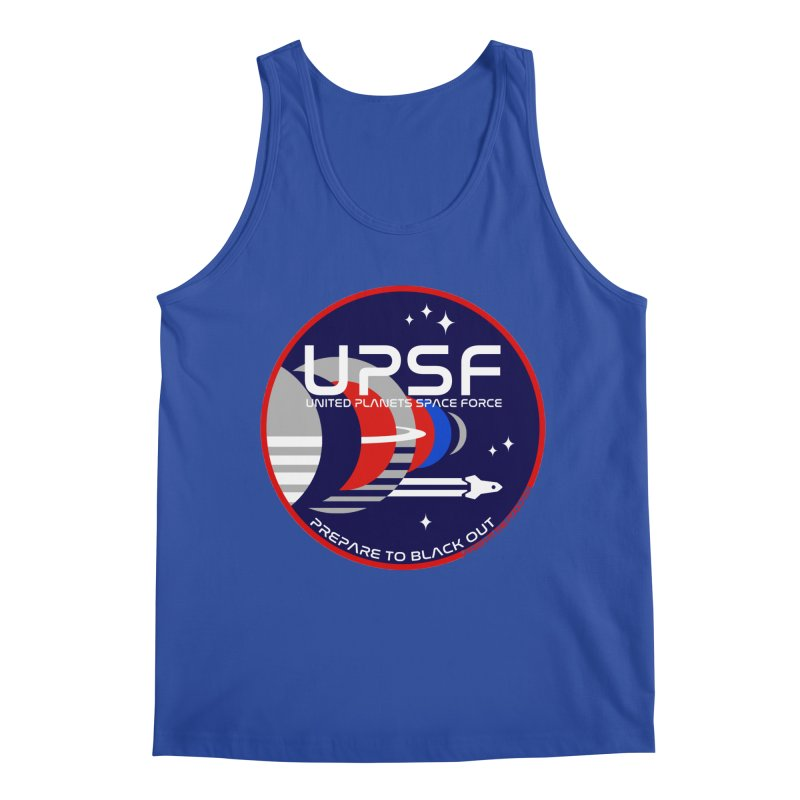 United Planets Space Force Logo Men's Regular Tank by Finish It! Podcast Merchzone