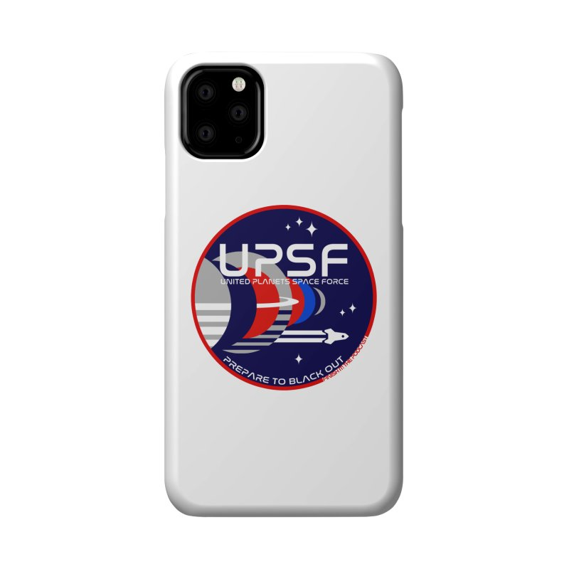 United Planets Space Force Logo Accessories Phone Case by Finish It! Podcast Merchzone