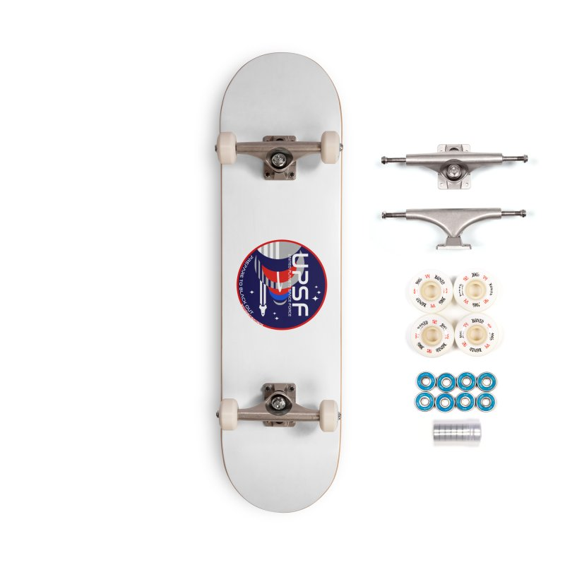 United Planets Space Force Logo Accessories Complete - Premium Skateboard by Finish It! Podcast Merchzone