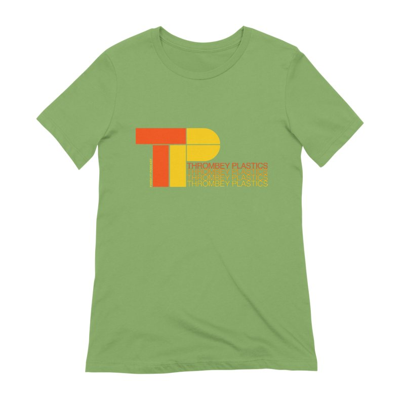 Thrombey Plastics Women's Extra Soft T-Shirt by Finish It! Podcast Merchzone