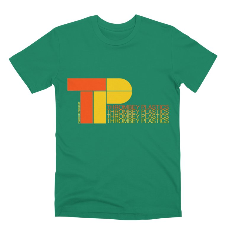Thrombey Plastics Men's Premium T-Shirt by Finish It! Podcast Merchzone