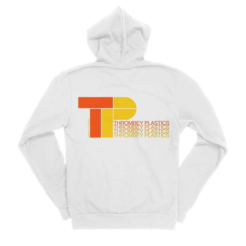 Thrombey Plastics Men's Zip-Up Hoody by Finish It! Podcast Merchzone
