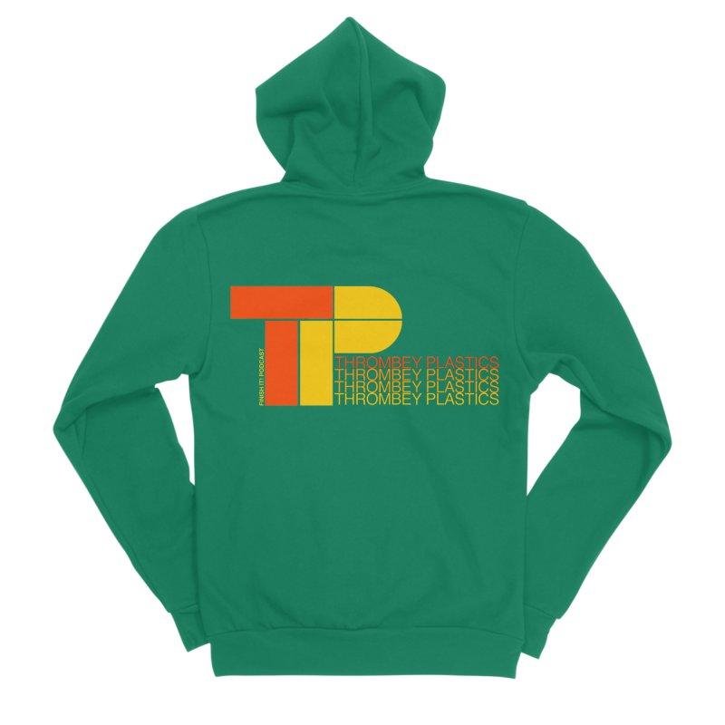 Thrombey Plastics Men's Zip-Up Hoody by Finish It! Podcast Merchzone