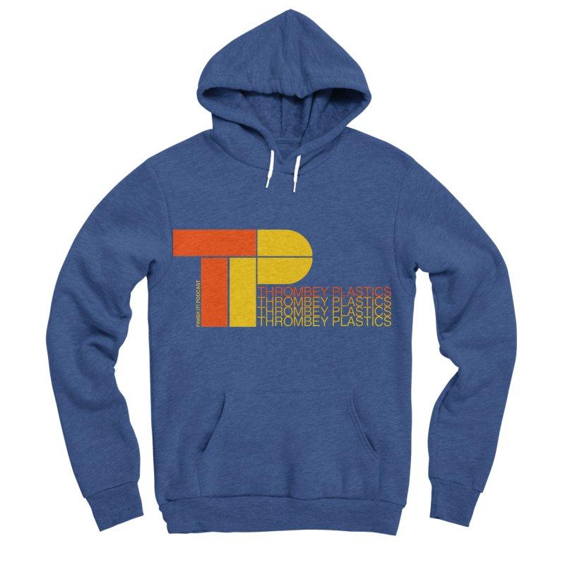 Thrombey Plastics Men's Sponge Fleece Pullover Hoody by Finish It! Podcast Merchzone