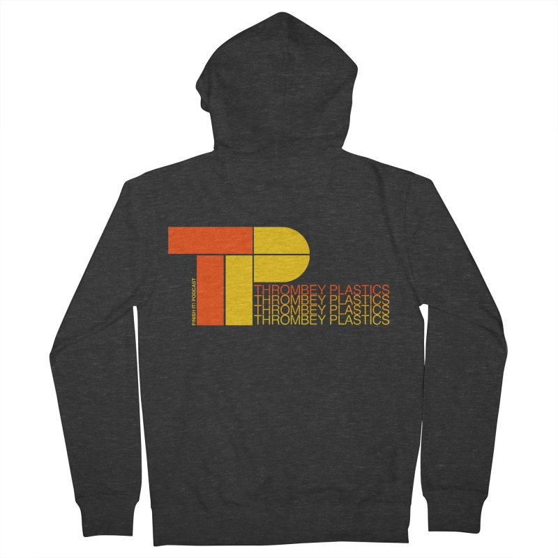 Thrombey Plastics Women's French Terry Zip-Up Hoody by Finish It! Podcast Merchzone